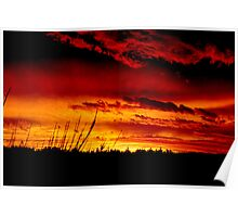 Ballarat Sunset No 2 ... Poster