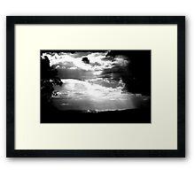 Summer Storm ... Framed Print