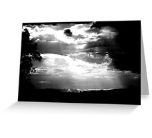 Summer Storm ... Greeting Card