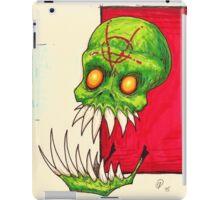 Skullie Anarchy  iPad Case/Skin