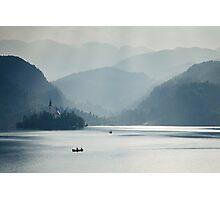 Breaking through the mist Photographic Print