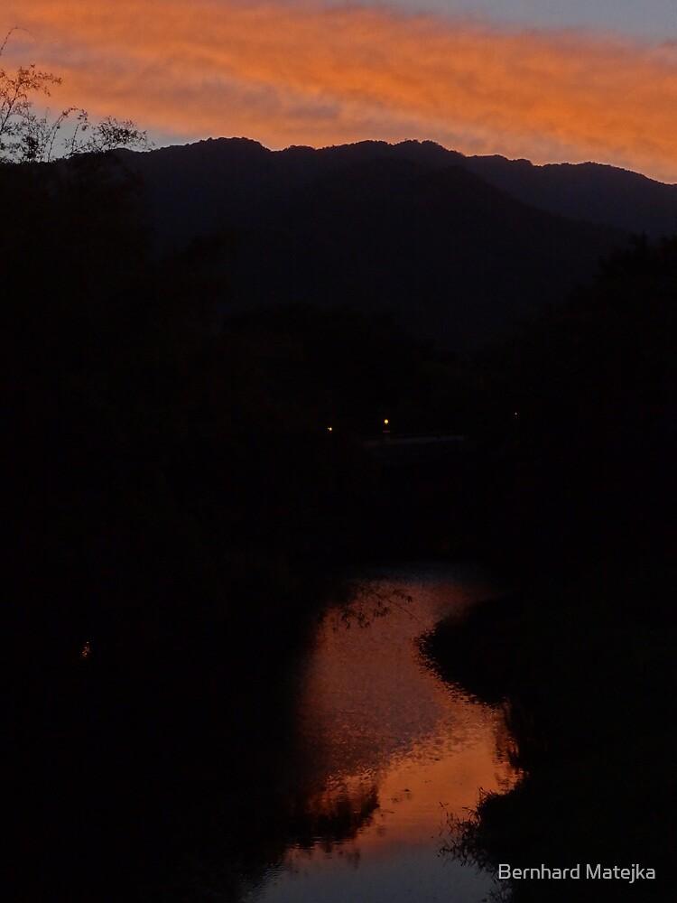 Sunrise I - Amanecer by Bernhard Matejka