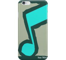 Eighth Note Silver I iPhone Case/Skin