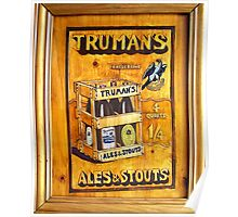 Trumans Ales and Stouts Poster