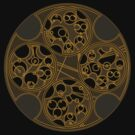 Tick-Tock Poem in Circular Gallifreyan by Barbora  Urbankova