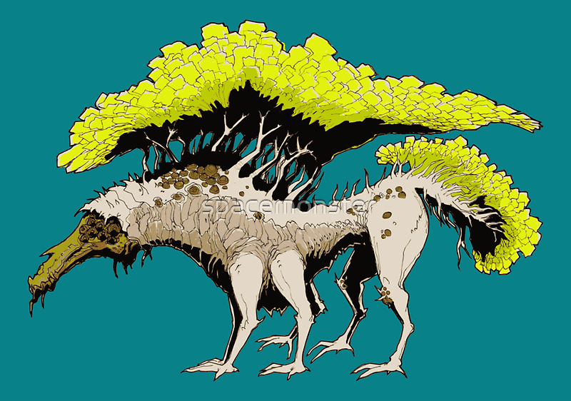 TREEGON by spacemonster