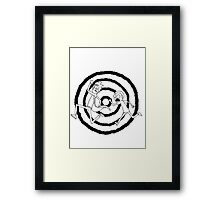 Rick and Morty: Sprial Framed Print