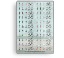 Pro Cycling Teams Metal Print