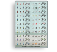 Pro Cycling Teams Canvas Print