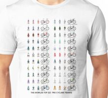 Pro Cycling Teams Unisex T-Shirt