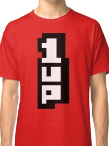 1up mario super Classic T-Shirt