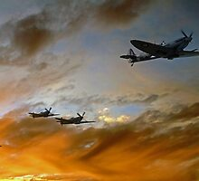 Squadron Scramble by James Biggadike