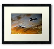 Squadron Scramble Framed Print