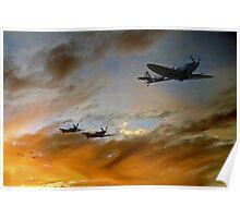 Squadron Scramble Poster