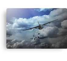 Supply Drop Metal Print
