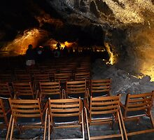 Concert in a Canarian Cave. by Sue Gurney