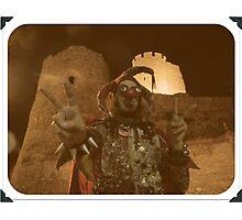 Punk Jester Photographic Print