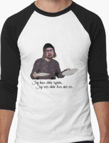 Kan ikke rydde Men's Baseball ¾ T-Shirt