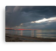 A Warm One To My Friends - 2 © Canvas Print