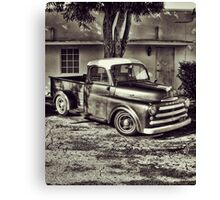 Old Timey Truck Zoomer Canvas Print