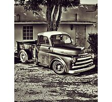 Old Timey Truck Zoomer Photographic Print
