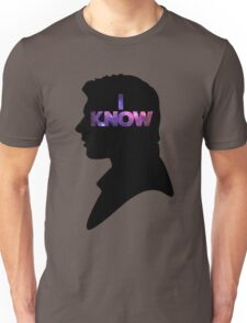 Star Wars Han 'I Know' Black Silhouette Couple Tee Unisex T-Shirt