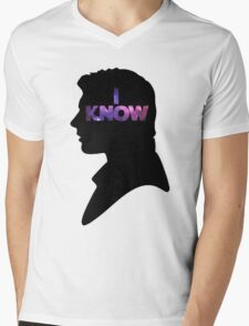 Star Wars Han 'I Know' Black Silhouette Couple Tee T-Shirt