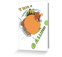 This Is Gallifrey Greeting Card