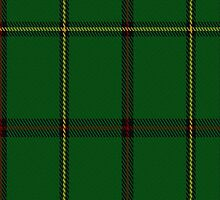 00224 Tribe of Mar District Tartan Fabric Print Iphone Case by Detnecs2013
