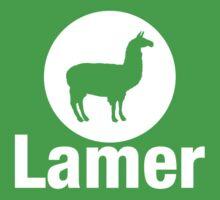 Lamer Llama by TeesBox