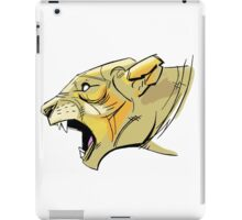Abstract Lioness iPad Case/Skin
