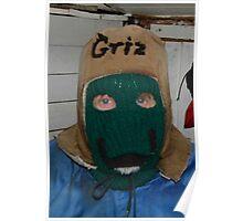 Griz' Winter Hat Poster
