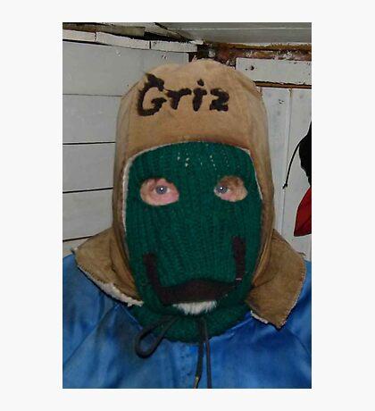 Griz' Winter Hat Photographic Print