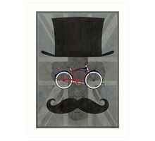 Bicycle Head Art Print