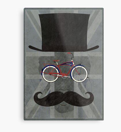 Bicycle Head Metal Print