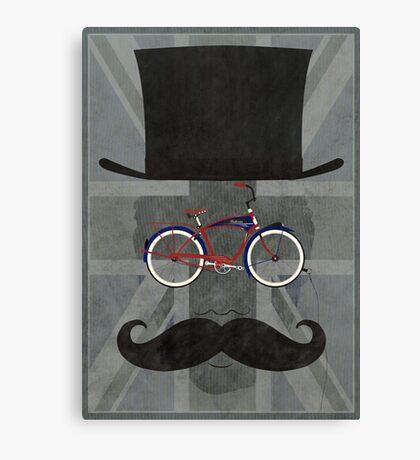 Bicycle Head Canvas Print