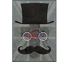 Bicycle Head Photographic Print