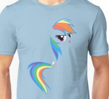 Rainbow Dash invisible Unisex T-Shirt