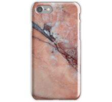 Pink Marble With Flaw iPhone Case/Skin