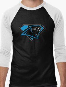 Super Panthers of the Carolinas (Design 2) Men's Baseball ¾ T-Shirt