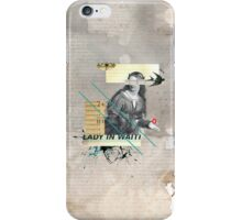 Lady in Waiting iPhone Case/Skin