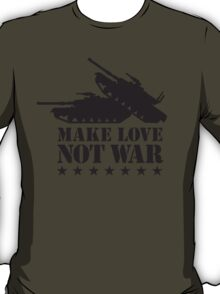 Make love not war - Tank T-Shirt