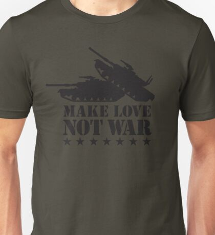 Make love not war - Tank Unisex T-Shirt