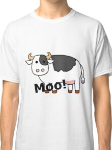 Cartoon Cow Classic T-Shirt