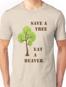 Save a tree! Unisex T-Shirt