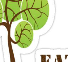 Save a tree! Sticker