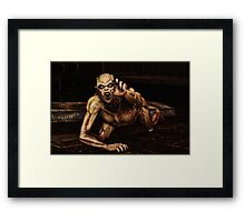 The Madness of William Jackson Framed Print