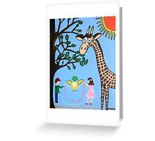 Nature's Playground Greeting Card