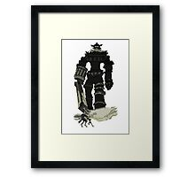 Colossi Framed Print