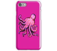 Hot Pink Octopus iPhone iPhone Case/Skin